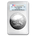 2012 5oz Silver ATB - Chaco Culture MS-69 DMPL First Strike PCGS