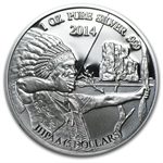 Mesa Grande 2014 1 oz Indian Silver Eagle