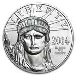 2014 1 oz Platinum American Eagle (March 19th)