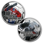 2013 1 oz Silver Niue $2 Transformers 2 Coin Set
