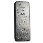 49.72 oz D & H Company Silver Bar .999 Fine (Scales of Justice)