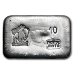 10 oz Bison Bullion Silver Bar .999 Fine