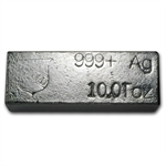 10 oz Oxford Mint Silver Bar .999 Fine