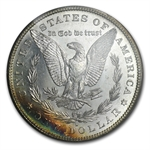 1880-S Morgan Dollar - MS-62 PL Proof Like PCGS - Toning - CAC