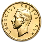 South Africa 1952 Gold 1 Pound George VI (BU/Proof)