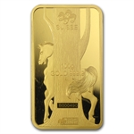 100 gram Pamp Suisse Year of the Horse Gold Bar (In Assay)