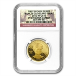 2012-W 1/2oz Proof Frances Cleveland - 2nd Term NGC PF-69 UCAM