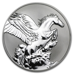 Tokelau 2014 1 oz Reverse Proof Silver $5 Pegasus