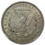 1921-D Morgan Dollar XF-45 NGC Defective Planchet Mint Error