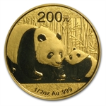 2011 1/2 oz Gold Chinese Panda - MS-70 PCGS (First Strike)