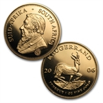 2006 2-Coin Proof South African Krugerrand Launch Set