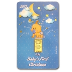 2013 1/2 gram Baby Boy's First Christmas Gold Bar (In Assay)