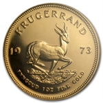 1973 1 oz Proof Gold South African Krugerrand PF-67 NGC