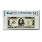 1934 (G-Chicago) $1,000 FRN (PMG Very Fine-30)