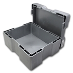 Silver Canadian Maple Leaf 25th Anniversary Monster Box (Gray)