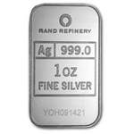 1 oz Rand Refinery Silver Bar - Year of the Horse .999 Fine