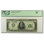 1928 (D-Cleveland) $500 FRN (PCGS About New 50)
