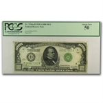 1928 (D-Cleveland) $1,000 FRN (PCGS About New 50)