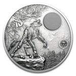 Palau 2013 2 oz Silver Mythical Creatures Collection - Werewolf