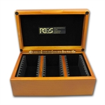 Hardwood Slab Gift Box w/PCGS Logo - Thirty Slabs