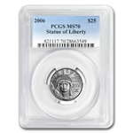 2006 1/4 oz Platinum American Eagle MS-70 PCGS