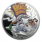 Niue 2013 Proof Silver $1 Cartoon Characters - Bugs Bunny