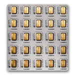 25x1 gram Pamp Gold Bar .9999 Fine (In Individual Assay)(Dec 27)