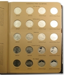 2010-2013 National Parks/ATB Quarter Dansco Album (80 coins)