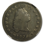 1795 Flowing Hair Dollar Very Fine-30 NGC - 3 Leaves
