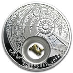 Belarus 2013 Silver Proof 20 Rubles Zodiac Signs - Capricorn