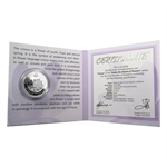 Belarus 2013 Silver Proof Under the Charm of Flowers - Crocus