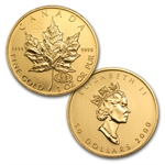1979-2014 1 oz Gold Maple Leaf Complete 36 Coin Collection