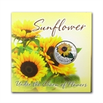 Belarus 2013 Under the Charm of Flowers-Sunflower (damaged box)