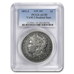 1892-S Morgan Dollar AU-55 PCGS VAM-2 Doubled Date Top-100