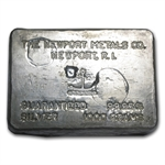 1000 gram Newport Metals co. Silver Bar .9995 Fine (32.15 oz)