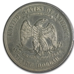 1876-S Trade Dollar - Almost Uncirculated-53 PCGS