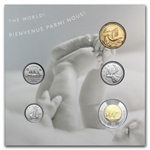 2014 Canadian Newborn Baby 5-Coin Gift Set