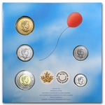 2014 Canadian Happy Birthday 5-Coin Gift Set