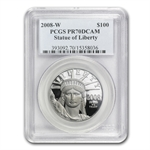 2008-W 4-Coin Platinum American Eagle PR-70 PCGS Registry Set