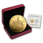 2014 1.125 oz Gold Canadian $300 Coin - Saskatchewan Coat of Arms