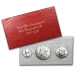 Sealed 15 coin 1976 U.S. Mint BU Bicentennial (5 set white case)
