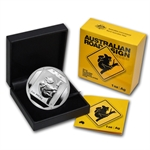 2014 1 oz Australian Silver Koala Road Sign
