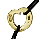 18K Gold Wave of Emotion Peace Talisman - Pamp Suisse