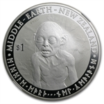 The Hobbit-An Unexpected Journey-Gollum Silver Coin PF-70 UCAM
