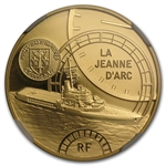 2012 1/4 oz Gold Great French Ships -The Jeanne D´Arc - PF-70 NGC