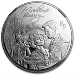 2013 Silver Heroes of French Literature - Madame Bovary-PF-70 NGC