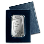 2014 1 oz Wedding Silver Bar (w/Gift Box & Capsule)