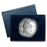 2014 1 oz Baby's First Birthday Silver Round (w/Box & Capsule)