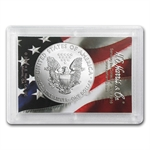 2014 1 oz Silver American Eagle - Flag/Eagle Design Harris Holder