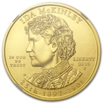 2013-W 1/2 oz Uncirculated Ida McKinley NGC MS-70 ER